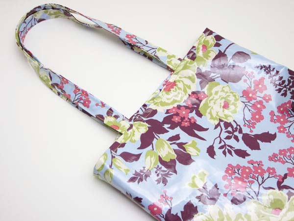 Oilcloth shopping bag