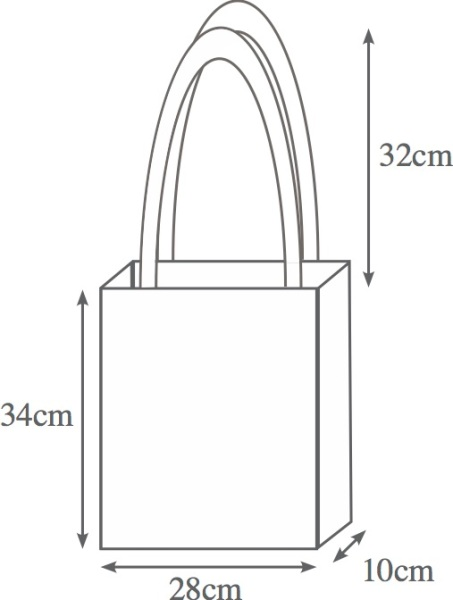 Shopping bag diagram